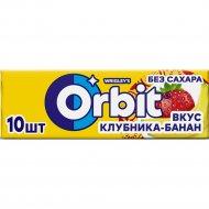 Жевательная резинка «Оrbit» клубника-банан, 13.6 г.