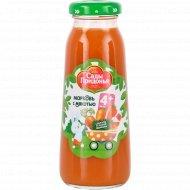 Нектар «Сады Придонья» морковь с мякотью, 200 мл