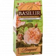 Чай зелёный «Basilur» кремовая фантазия листовой, 100 г.