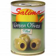 Оливки зеленые без косточки «Salima» пастеризованные, 280 г.