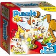 Пазл «Собачка и щенок» 25 элементов.