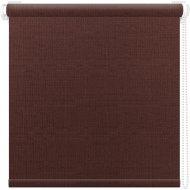 Рулонная штора «АС Март» Шатунг, Шоколад, 67х160 см