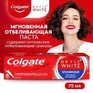 Зубная паста «Colgate» Optic White Мгновенный, 75 мл.