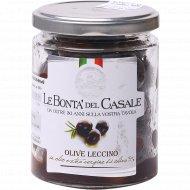 Маслины с косточкой «Le Bonta Del Casale» консервированные, 200 г.