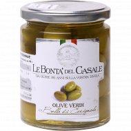 Оливки с косточкой «Le Bonta Del Casale» консервированные, 280 г.
