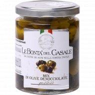 Оливки и маслины без косточки «Le Bonta Del Casale» 270 г.