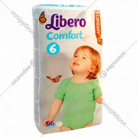 Подгузники «Libero» Comfort 6 (12-22 кг) 66 шт.