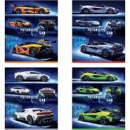 Тетрадь «Авто. Futuristic car» клетка, 96 л.