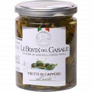 Каперсы в винном уксусе «Le Bonta Del Casale» пастеризованные, 280 г.