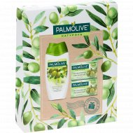 Набор «Palmolive» гель-крем для душа 250 мл+мыло туалетное, 90 гх2 шт.