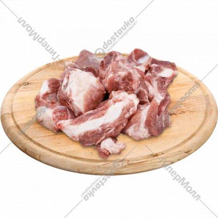 Рагу из свинины, замороженное, 1 кг., фасовка 1.1-1.2 кг