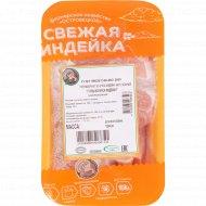 Гуляш из мяса индейки замороженный, 1 кг