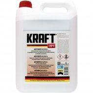 Антифриз «Kraft» KF110, G12/G12+, красный, 5 л