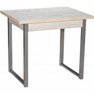 Обеденный стол «Древпром» Алан М102, ДП1-02-04, Наоми/Металлик