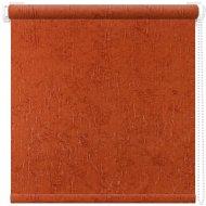 Рулонная штора «АС Март» Крисп, оранжевый, 38х175 см