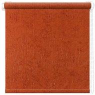 Рулонная штора «АС Март» Крисп, оранжевый, 43х175 см