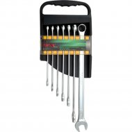 Набор комбинированных длинных ключей «Toptul» GAAM0706, 10-19 мм.
