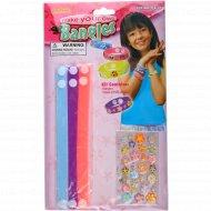 Игрушка-набор «Весёлые браслетики» для детского творчества.