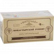 Фиточай «Монастырский рецепт» 25 пакетиков по 2 г, 50 г.