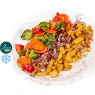 Курица с овощами в кисло-сладком соусе «J.Cafe Bistro» замороженная, 270 г