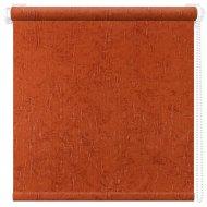 Рулонная штора «АС Март» Крисп, оранжевый, 52х175 см