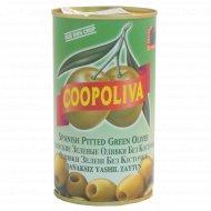 Оливки «Coopoliva» без косточки, 350 г.