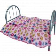 Кроватка кукольная, 9342-1.