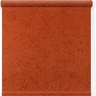 Рулонная штора «АС Март» Крисп, оранжевый, 90х175 см