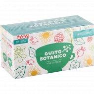 Чай травяной «Gusto Botanico» Breezy Mint 25 пакетов x 2 г, 50 г.