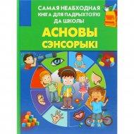 Книга «Асновы сэнсорыкі» 0+.