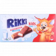 Батончики из молочного шоколада со сливочной начинкой «Rikki» 100 г.