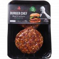 Котлеты для бургера «Burger chef» Spicy, 400 г.
