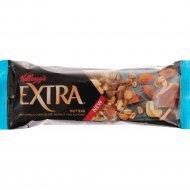 Батончик «Kellogg's Extra» с шоколадом, арахисом и миндалем, 32 г