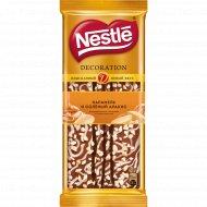Шоколад «Nestle» декорированный, с карамелью и соленым арахисом, 80 г