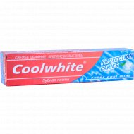 Зубная паста «Coolwhite» protection caries, 120 г.