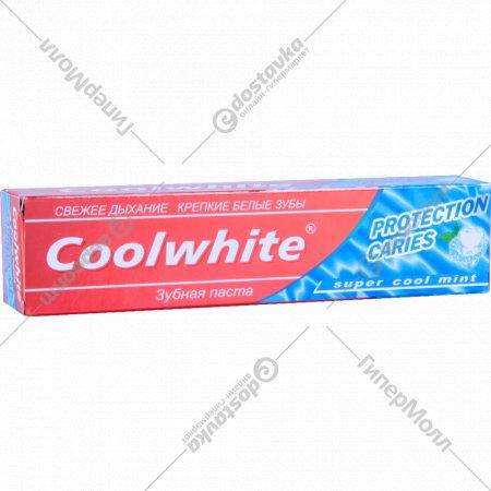 Зубная паста «Coolwhite» protection caries, 120 г.