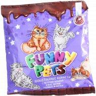 Шоколадные конфеты «Funny pets» с молочной начинкой, 145 г.