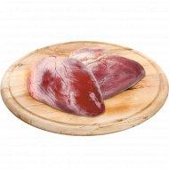 Сердце свиное, замороженное, 1 кг., фасовка 0.6-1.2 кг