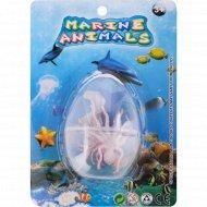 Игрушка-животное в яйце «Marine Animals» 2 вида