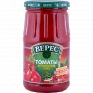 Томаты «Верес» в томатном соке, 800 г.