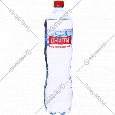 Вода минеральная «Джигем» газированная, 1.5 л.