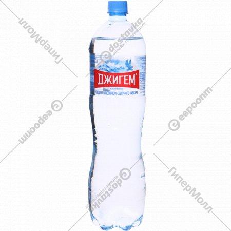 Вода минеральная «Джигем» негазированная, 1.5 л.