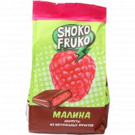 Конфеты глазированные «Shoko Fruko» с малиной, 170г.