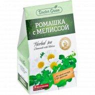 Напиток чайный «Doctor Green» ромашка с мелиссой, 20x1 г.