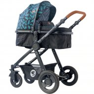 Детская коляска «Lorelli» Alexa 3 в 1 Black Leaves.