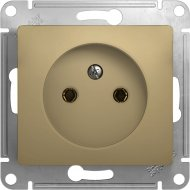 Розетка «Schneider Electric» Glossa, GSL000441, золотистый