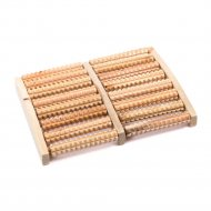 Массажер деревянный «Барабаны» 27x20x3 см.