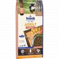 Корм для собак «Бош» эдалт лосось с картофелем, 15 кг.