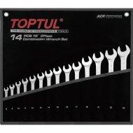 Набор комбинированных ключей «Toptul» GPAB1402 8-32 мм.