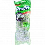 Металлическая мочалка-губка «Paclan» для хозяйственных нужд, 3 шт.